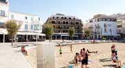 Restaurants-achter-het-strand-van-La-Platja