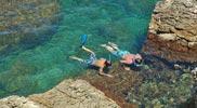 Snorkelen-aan-strand-Portitxol