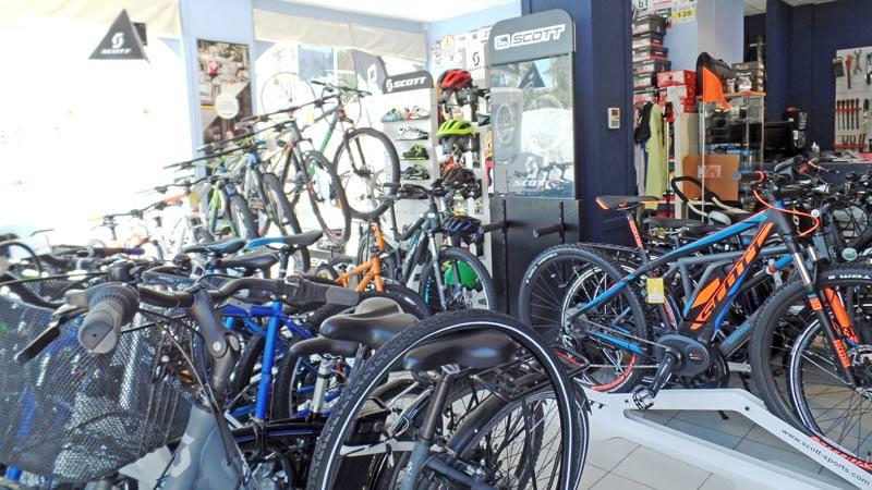 Fiets huren in l'Escala? Kijk in de winkel van Scale Bikes