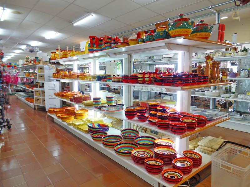 Sonja Casa i Estils heeft veel keuze aan Spaans aardewerk