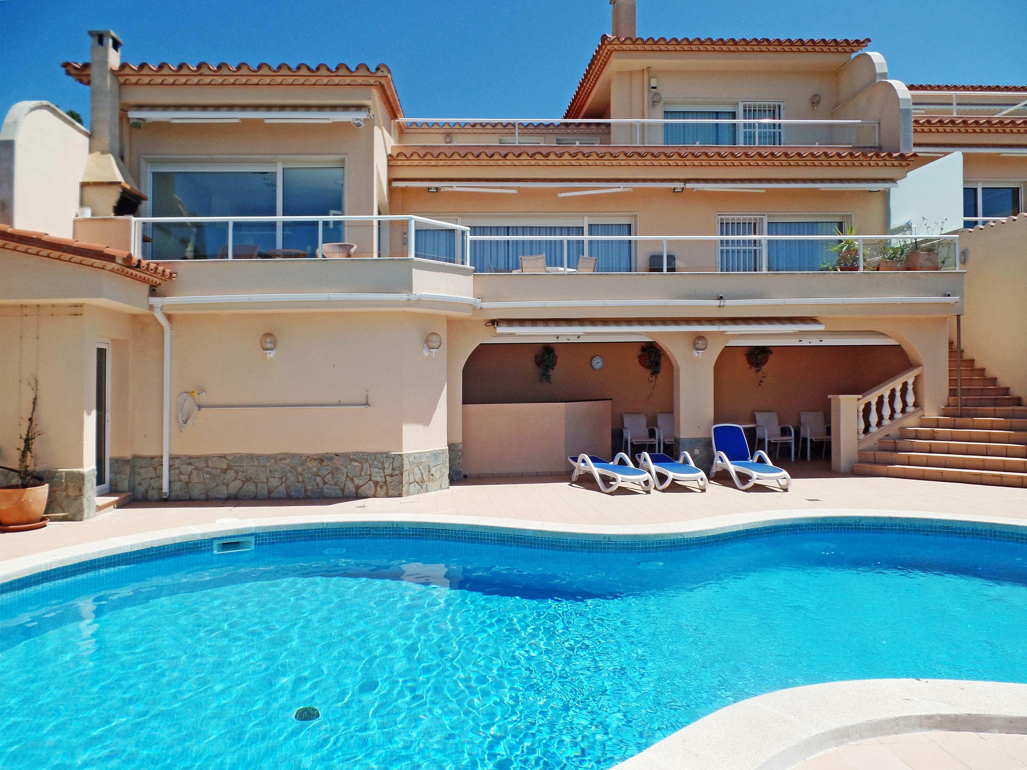 Villa Cap de la Barra in de zon