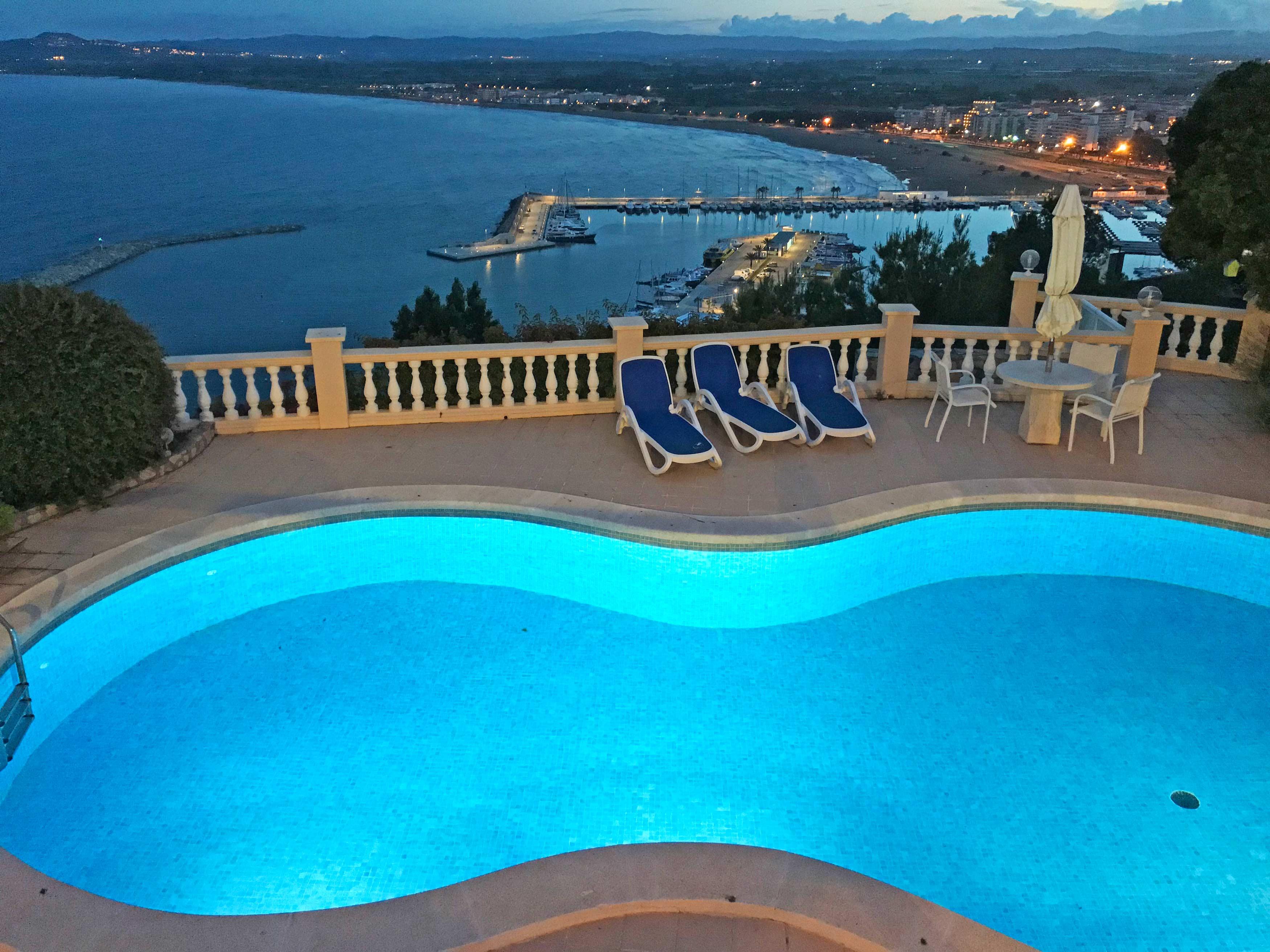 Prachtig uitzicht over de baai van l'Estartit