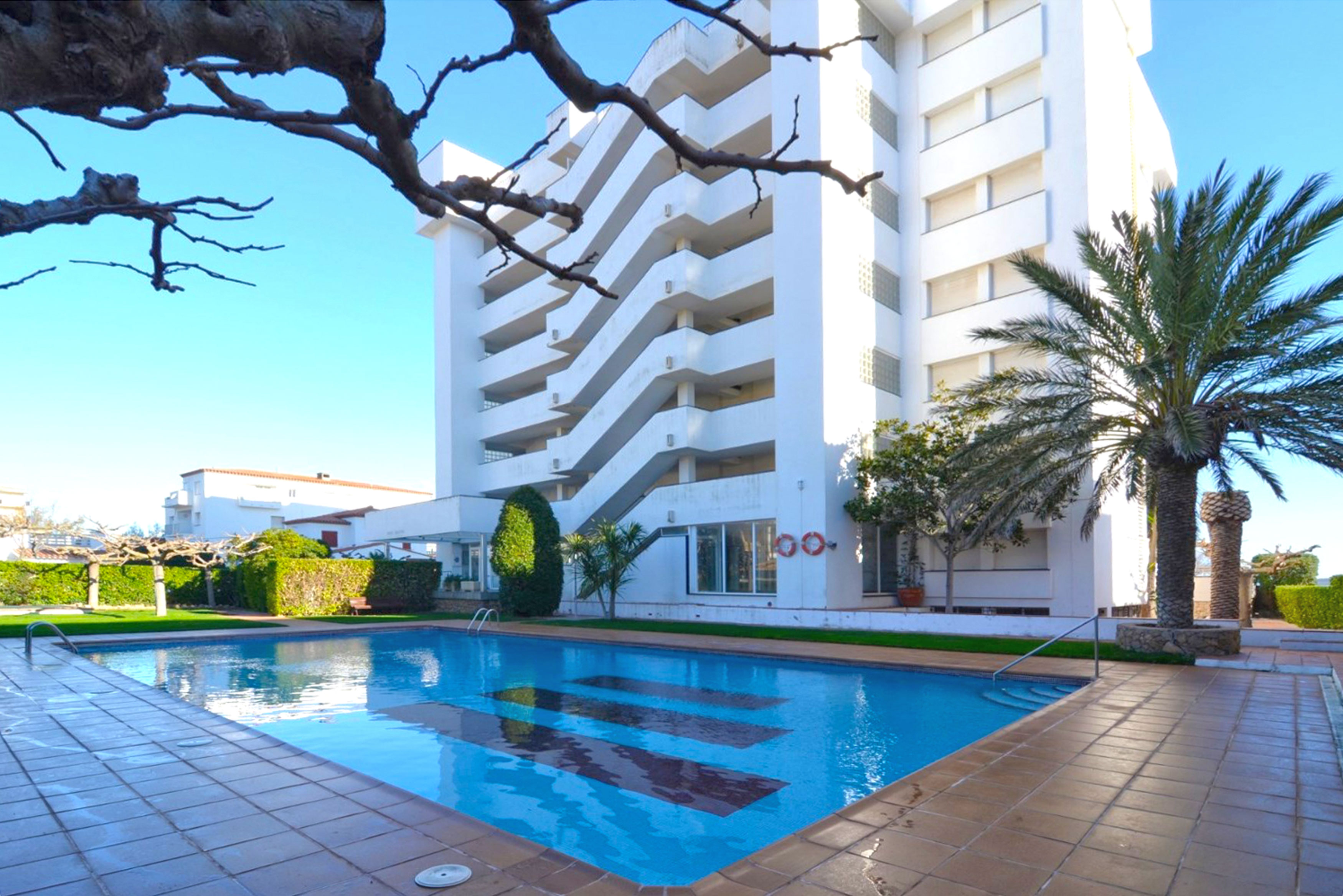 Vistamar l'Escala zwembad bij appartement