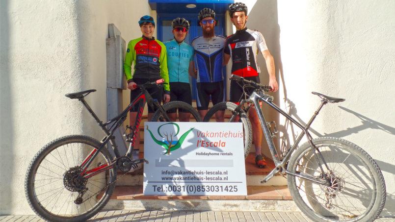 Mountainbike of racefiets vanuit l'Escala!
